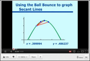 NCSSM Calculus Video Example
