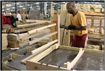 NCCCS Customized Training Furniture Building