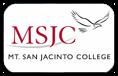 MSJC Mt. San Jacinto College Logo
